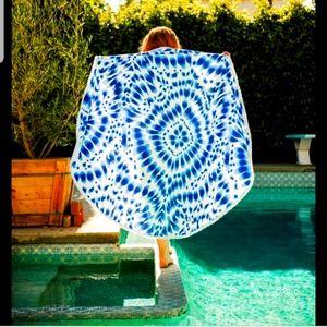 NEW Enchanted House Indigo Beach Towel